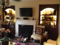 Bookcase and Mantle in Sandy Springs, GA