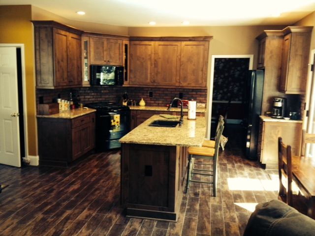 Rustic Kitchen Cabinets in Alpharetta, GA