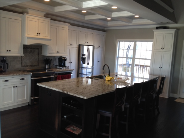 Shaker style kitchen cabinetry in Oakwood, GA
