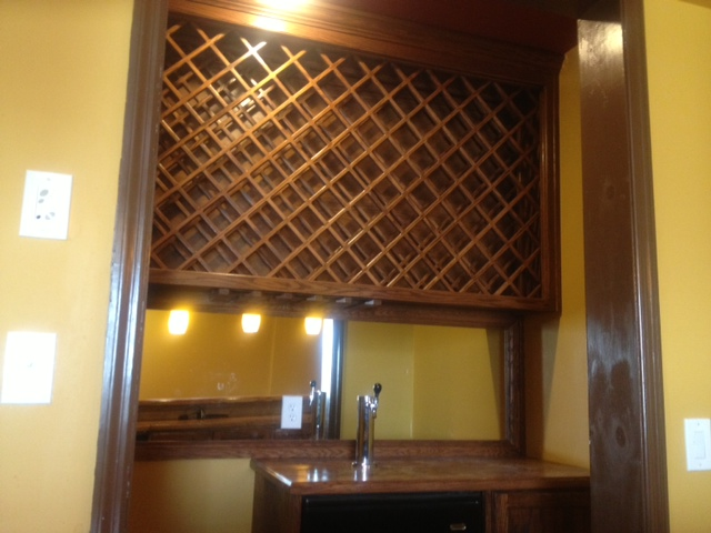 Custom Wine Rack Cabinetry in Auburn, GA